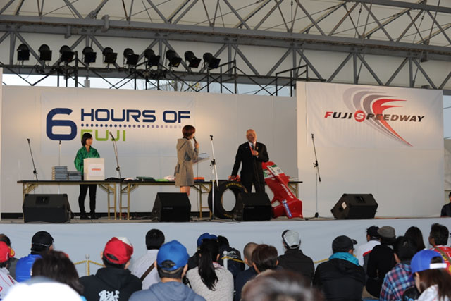 WEC富士の復興支援オークションで義捐金59万円(1)