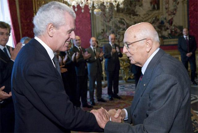 ピレリ、イタリア大統領から創業140周年の祝辞(1)