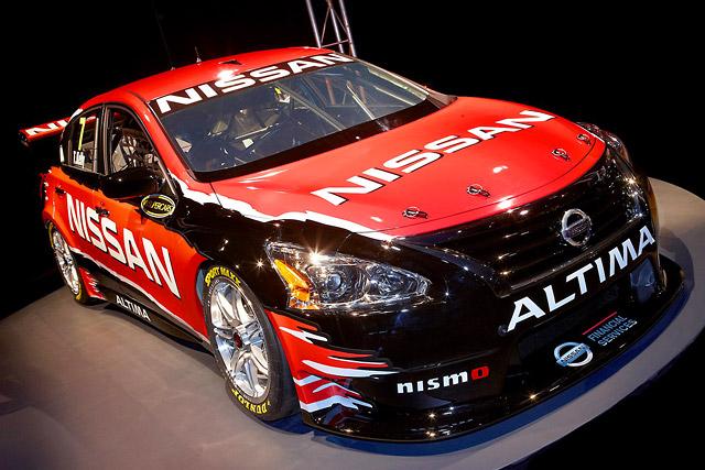 ニッサン、豪V8スーパーカー用アルティマを公開(1)