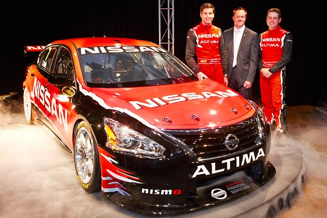ニッサン、豪V8スーパーカー用アルティマを公開(3)