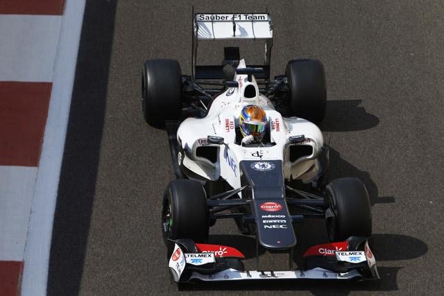 アブダビF1若手ドライバーテスト