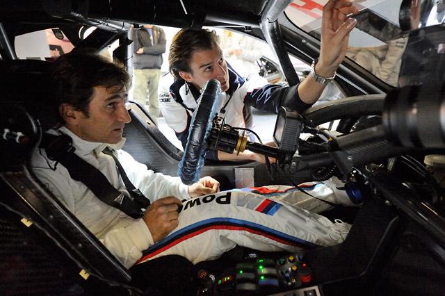 ザナルディ、BMW M3 DTMを駆る。「特別な1日」(2)