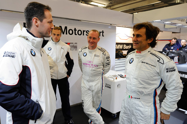 ザナルディ、BMW M3 DTMを駆る。「特別な1日」(5)