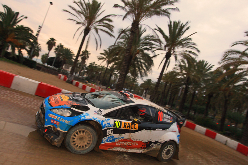 [WRC第13戦スペイン] グラベル&ミックスのデイ1はオストベルグがリード(1)