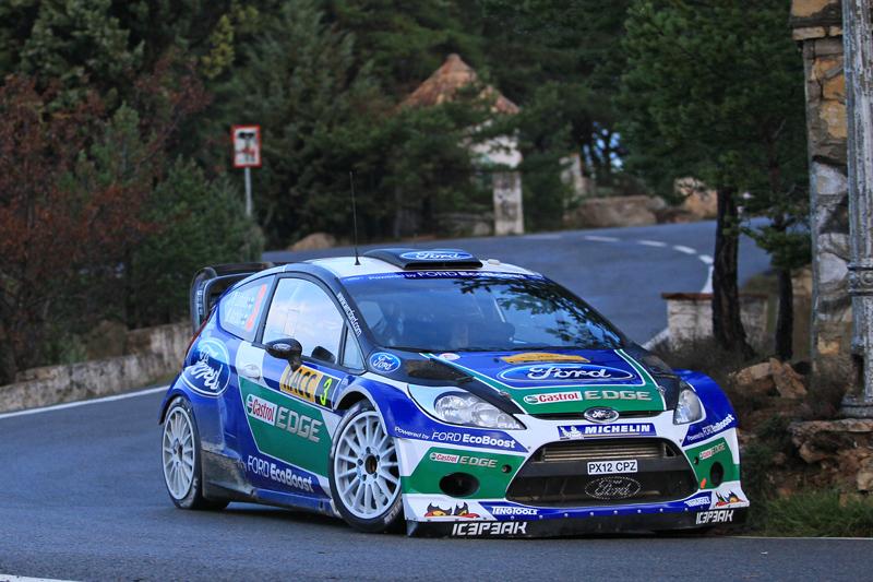 WRCスペイン:ローブがデイ2トップに(3)