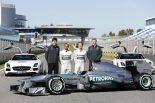 F1   メルセデス、新車『W05』の発表日を決定