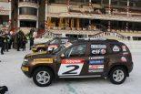 F1 | ライコネン、モスクワのアイスレースをエンジョイ