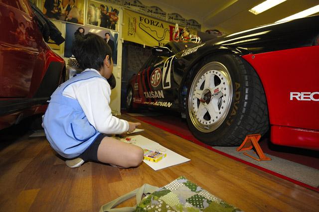 タイサン千葉代表が園児を招待。レースカーを披露(3)