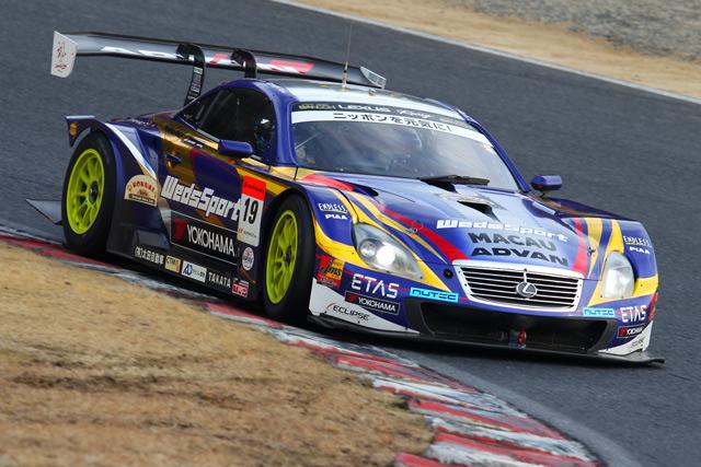 岡山でスーパーGTテスト実施。10台が走行重ねる(5)