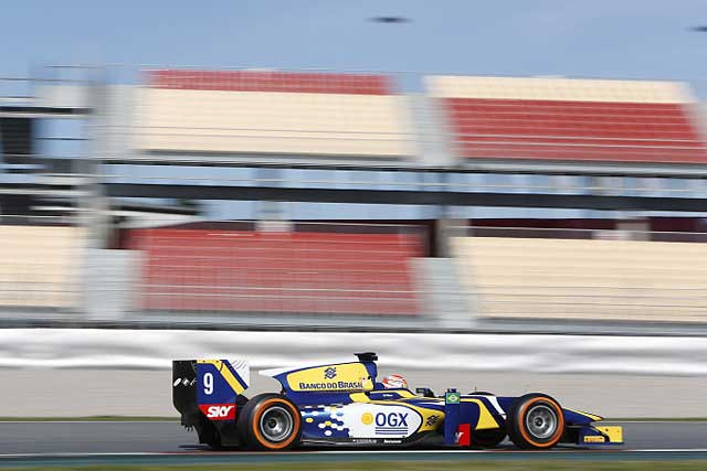 GP2バルセロナテストは、コレッティがトップタイム(2)