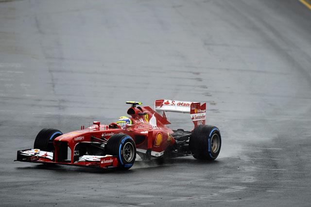 ベッテルにトラブル。FP3は雨で消化不良のまま終了(3)