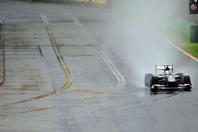 ベッテルにトラブル。FP3は雨で消化不良のまま終了(4)