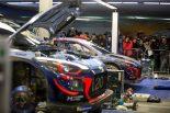 2018年のWRC第1戦モンテカルロで苦戦を強いられたヒュンダイ
