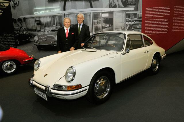ポルシェ、911の50周年を祝う特別展を開催(5)