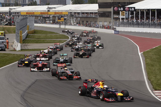 今季カナダGPのDRSゾーンは再び2カ所に(1)