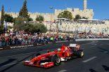 F1 | フィジケラ、フェラーリF60でエルサレムを疾走