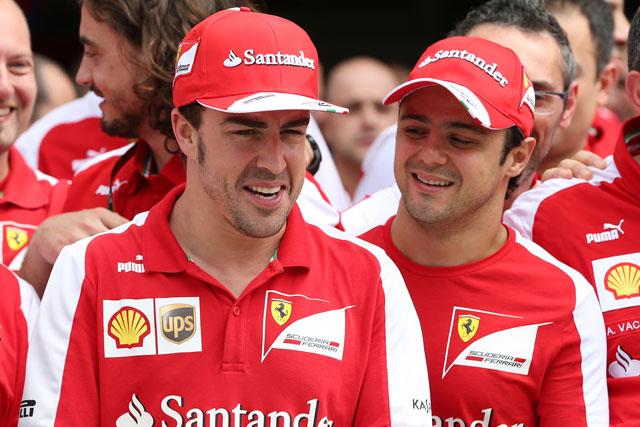 フェラーリ、テストにアロンソ&マッサ起用と発表(1)
