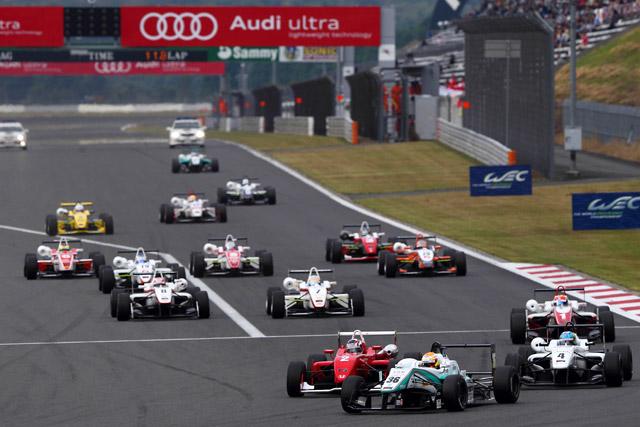 昨年に続きWEC富士のサポートに全日本F3決定(1)