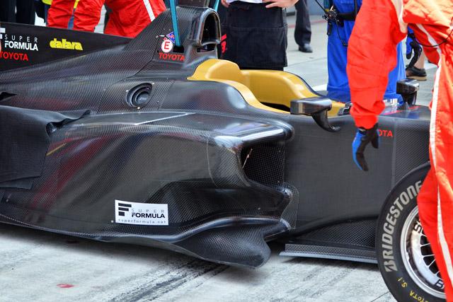 スーパーフォーミュラSF14、ついに2台が初走行!(12)