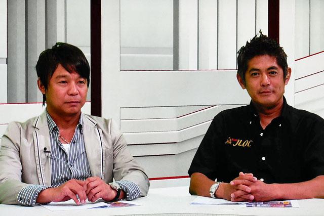『GTV』第4回に新田&織戸。互いのマシンを語る(1)