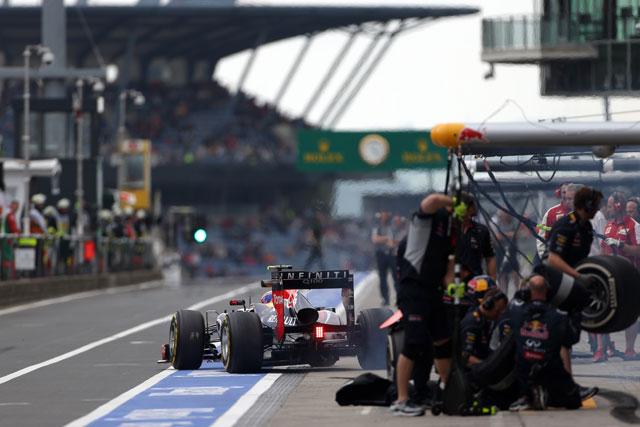 2013年ドイツGP マーク・ウエーバー(レッドブル)