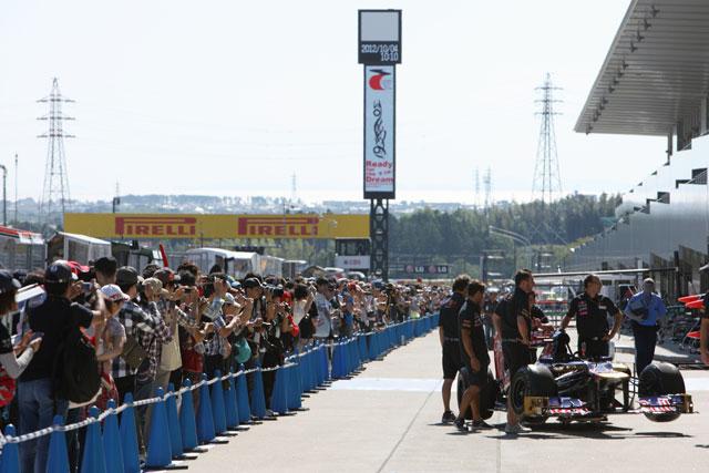 日本GPの木曜日はドライバーと触れ合う大チャンス(1)