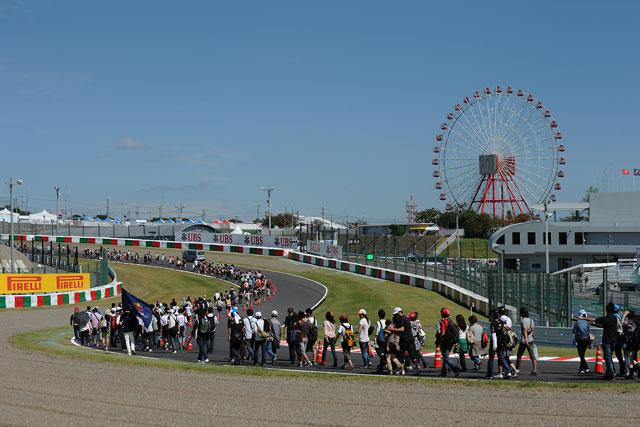 日本GPの木曜日はドライバーと触れ合う大チャンス(3)