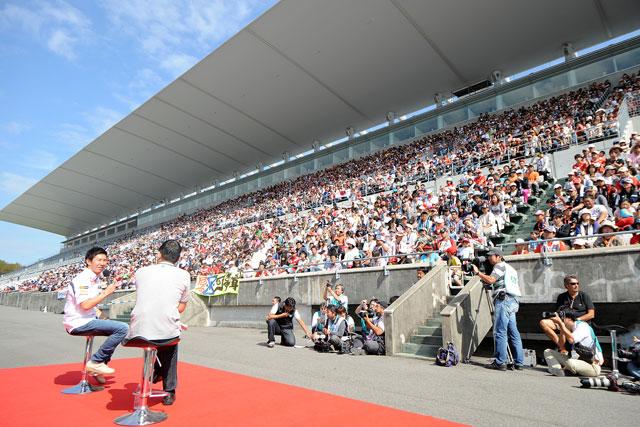 レース以外も満喫、F1日本GPはイベント盛り沢山(4)
