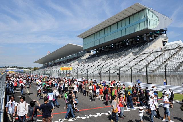 レース以外も満喫、F1日本GPはイベント盛り沢山(5)