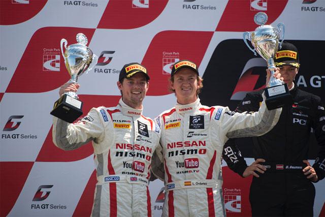 ニッサン、FIA-GT第3戦でポディウム獲得(1)