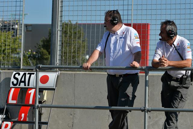 F1若手ドライバーテスト