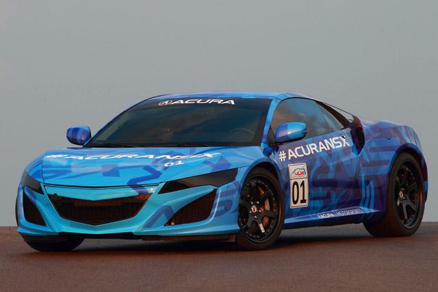 ホンダ、NSX試作車をミドオハイオで世界初公開(2)