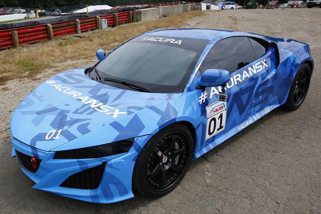 ホンダ、NSX試作車をミドオハイオで世界初公開(4)