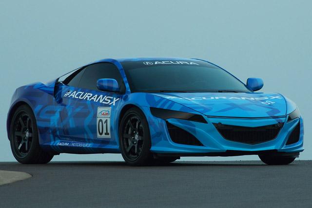 ホンダ、NSX試作車をミドオハイオで世界初公開(5)