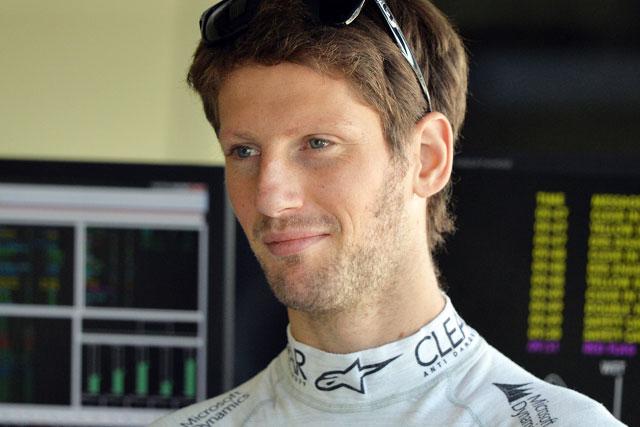 グロージャンに自信「F1初勝利は近いと思う」(1)
