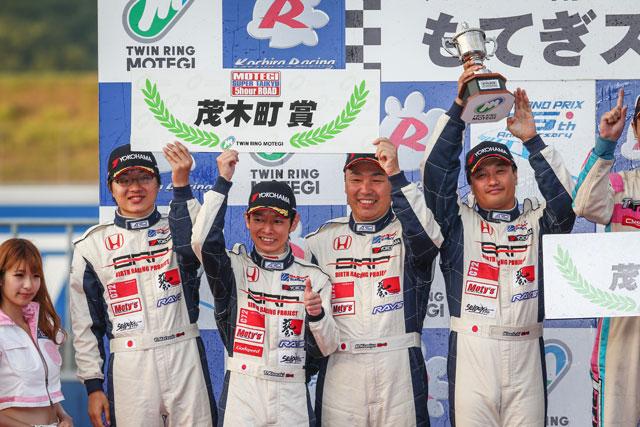 BRP☆J'Sフィット、S耐もてぎはPP獲得も決勝2位(4)