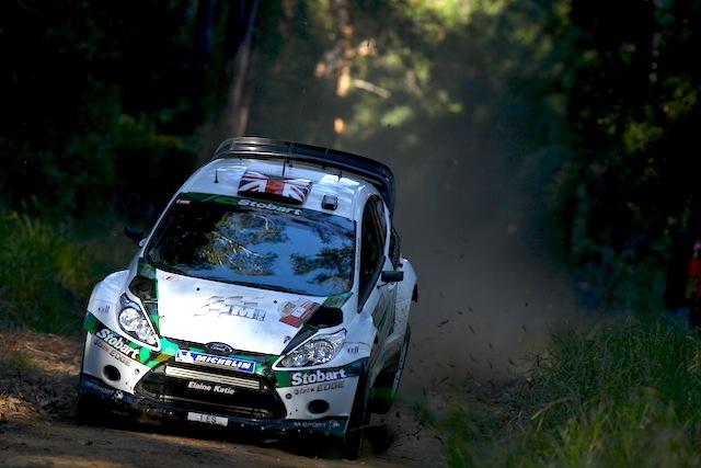 WRCオーストラリア:日本時間のアイテナリー(1)