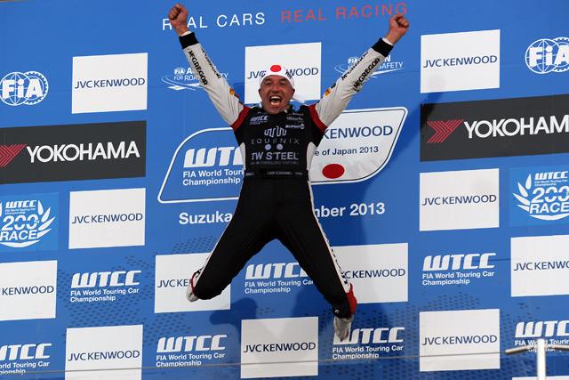 WTCC鈴鹿:レース2はコロネル逆転V。伊沢は無念(1)