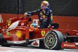 F1 | ウエーバーに次戦グリッド降格ペナルティ
