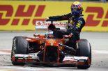 F1 | ハミルトン「ウエーバーをひく可能性もあった」