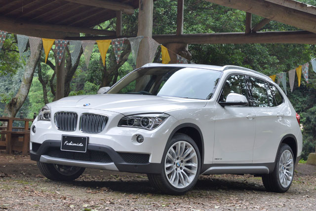 『BMW X1』の女性向けモデルが300台限定で発売(1)