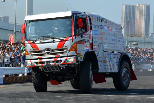 ヒノ、今年も2台体制でダカールラリー挑戦へ(2)
