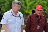 F1 | ラウダ、ロス・ブラウン残留の望みを捨てず