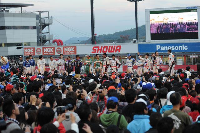 立川/平手が3位でGT500王座獲得! 優勝はENEOS(14)