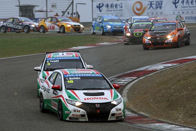 モンテイロがシビックWTCCで初V。表彰台独占(3)