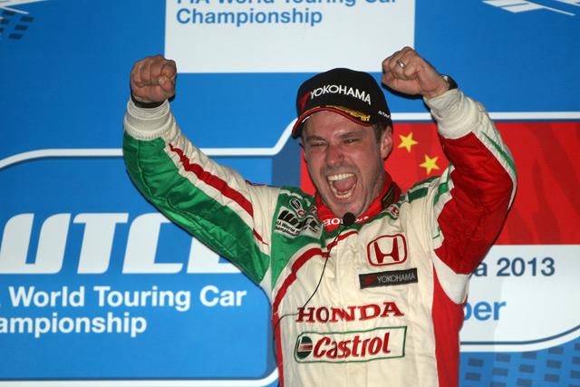 モンテイロがシビックWTCCで初V。表彰台独占(5)