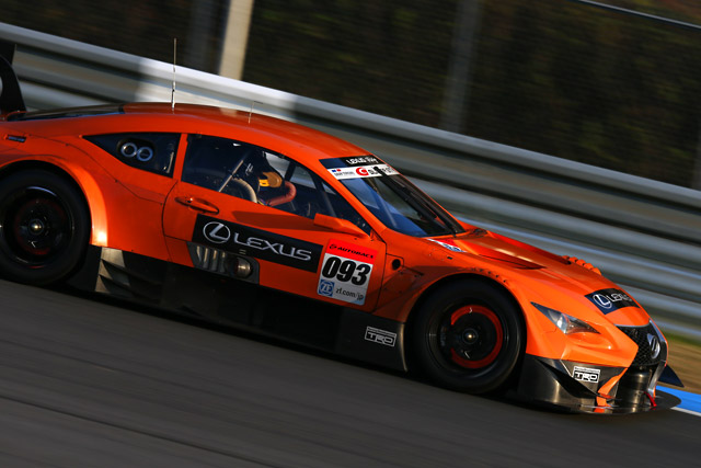 14年GT500がもてぎで走行。GT-Rが1分40秒台(4)