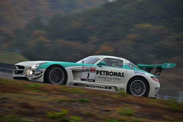 S耐AP戦はマッハ号GT-Rが勝利。1号車が戴冠(4)