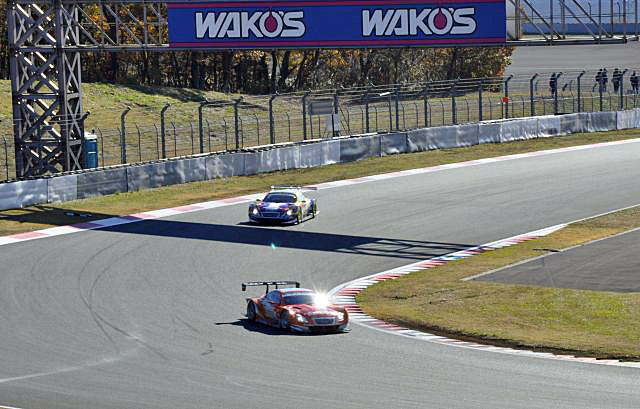 JAF GP:SGTは山本&大嶋がPP獲得。GT300は3号車(2)
