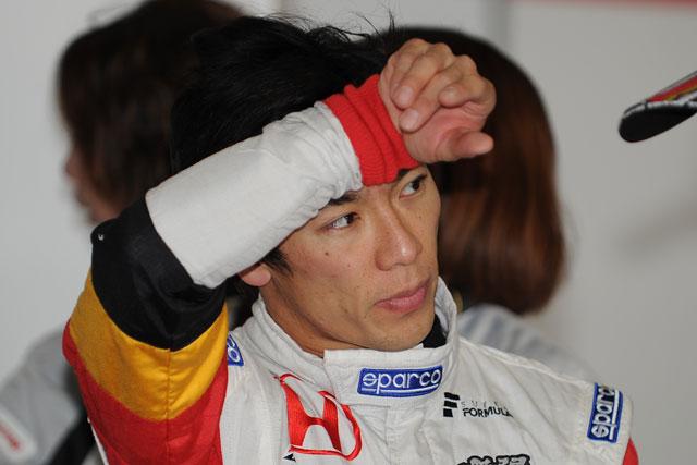 JAF Grand Prix:朝のSFフリー走行は松田が首位に(5)